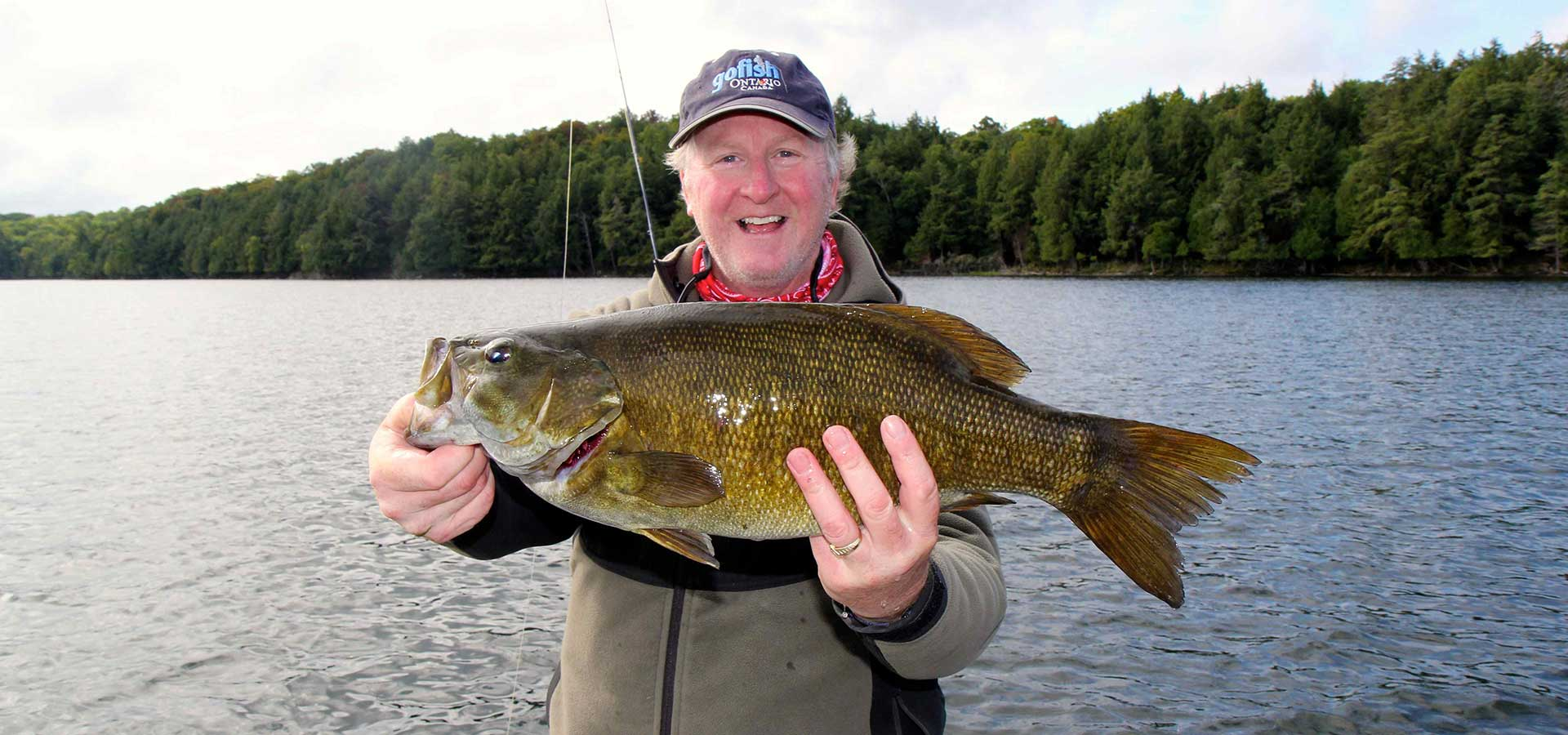 Algoma smallmouth bass fly fishing the new fly fisher show for Best fishing in ohio