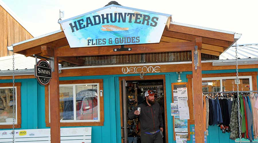 Head hunters fly shop outfitters montana the new fly for Fly fishing shops near me
