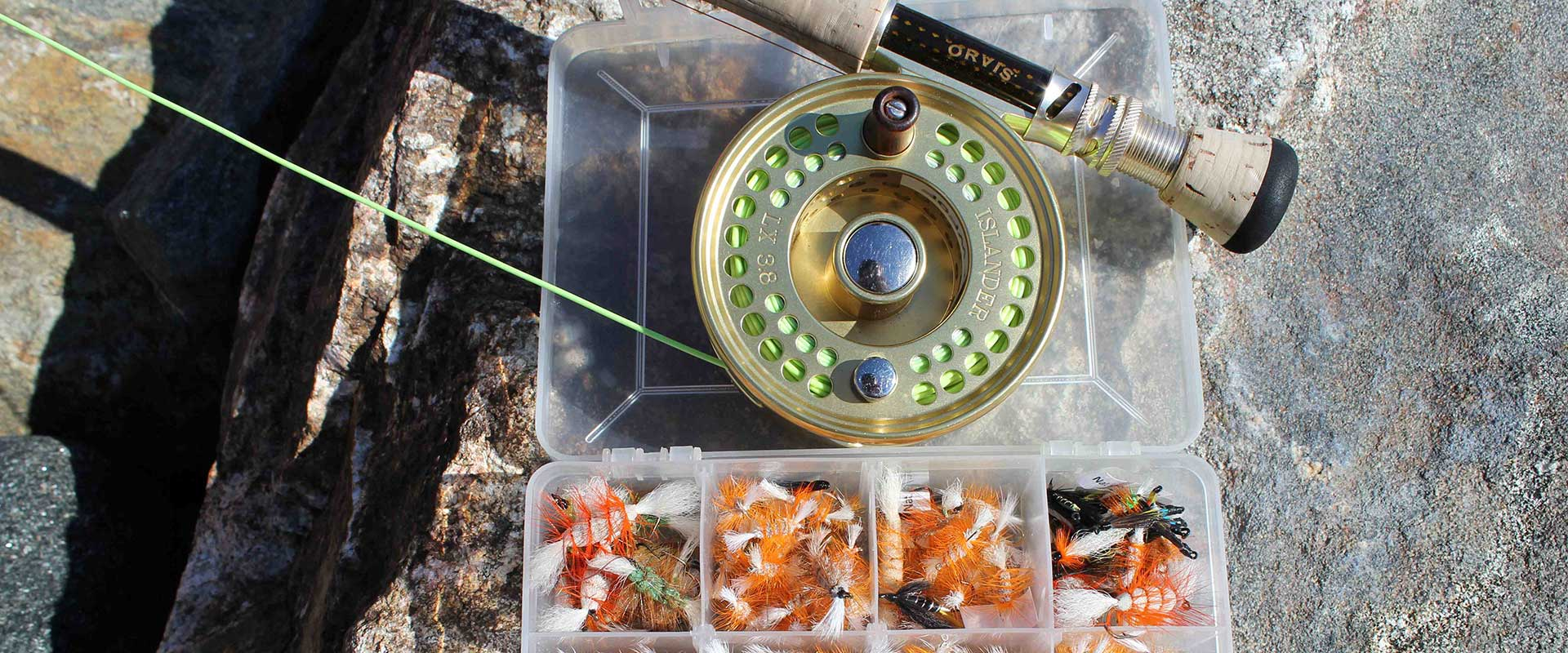 Tnff used fly fishing equipment the new fly fisher for Fly fishing materials